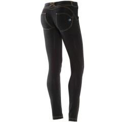 Pantalone Freddy WR.UP® Effetto Denim lavaggio scuro