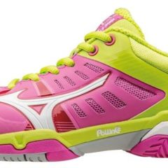 WAVE EXCEED SL AC WOS ELECTRIC WHITE LIME MIZUNO