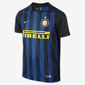 KIDS' INTER MILAN STADIUM TOP BLUE YELLOW NIKE