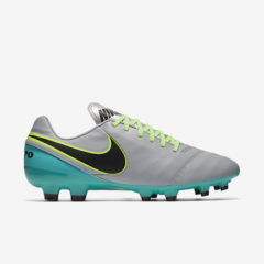 NIKE TIEMPO GENIO II LEATHER FG WOLF GREY NIKE