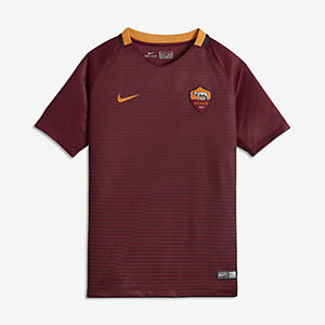 ROMA YOUTH SS HOME STADIUM RED NIKE
