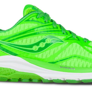 RIDE 9 W POP TOE THE LIME SAUCONY