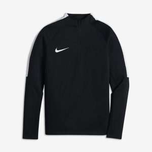KID'S NIKE SQUAD FOOTBALL DRILL TOP BLACK NIKE
