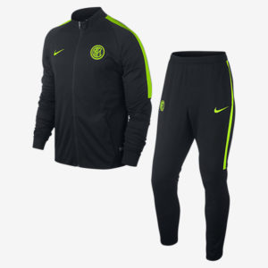 MEN'S INTER MILAN TRACK SUIT BLACK NIKE