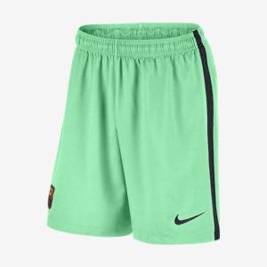MEN'S FC BARCELONA STADIUM SHORT GREEN GLOW NIKE