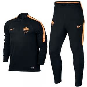 KID'S A.S. ROMA TRACK SUIT BLACK PEACH CREAM NIKE