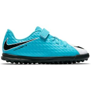 KID'S NIKE JR HYPERVENOM PHADE III V TF PHOTO BLUE NIKE