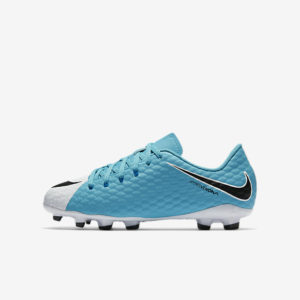 KID'S NIKE JR HYPERVENOM PHELON III FG PHOTO BLUE NIKE