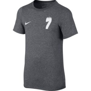 BOYS NIKE DRY CR7 T-SHIRT CARBON WHITE NIKE