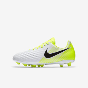 KID'S NIKE MAGISTA OPUS II AG WHITE BLACK VOLT NIKE