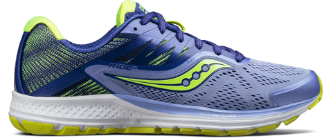 RIDE 10 W PURPLE BLUE CITRON SAUCONY