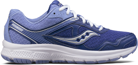 COHESION 10 W NAVY PURPLE SAUCONY
