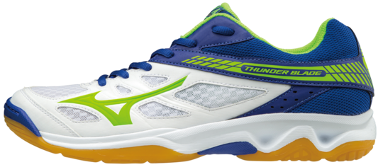 THUNDER BLADE WHITE GREEN MIZUNO