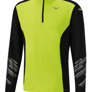 VORTEX WARMALITE HZ SHIRT SAFETY YELLOW BLACK MIZUNO