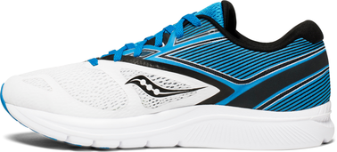 KINVARA 9 WHITE BLUE BLACK SAUCONY