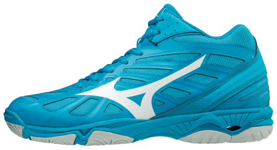 WAVE HURRICANE MID BLUE JEVEL MIZUNO