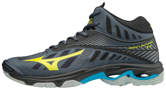 WAVE LIGHTNING MID OMBRE BLUE MIZUNO