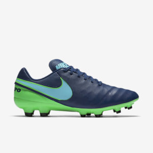 NIKE TIEMPO GENIO II LEATHER FG COASTAL BLUE NIKE