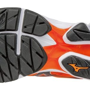 SHOE WAVE RIDER 20 CLOWNFISH BLACK SILVER MIZUNO