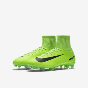 KIDS NIKE JR MERCURIAL SUPERFLY V FG ELECTRIC GREE NIKE