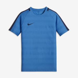 KID'S NIKE DRY SQUAD FOOTBALL TOP PHOTO BLUE NIKE