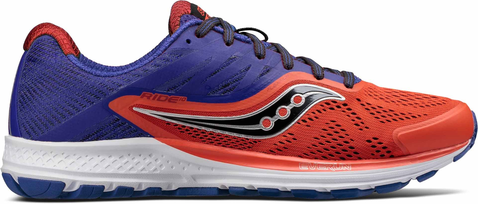 RIDE 10 ORANGE BLUE SAUCONY