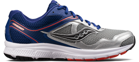 COHESION 10 SILVER BLUE ORANGE SAUCONY