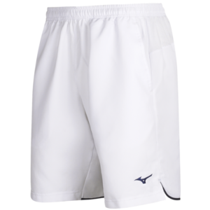 TEAM HEX RECT SHORT WHITE NAVY MIZUNO
