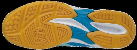 Mizuno THUNDER BLADE Scarpe da Pallavolo BLUE-WHITE-DIVA