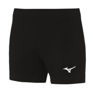 TEAM HIQ TRAD SHORT WOS BLACK WHITE MIZUNO