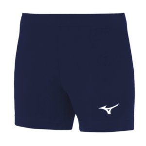 TEAM HIQ TRAD SHORT WOS NAVY WHITE MIZUNO