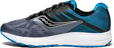 RIDE 10 GREY BLACK BLUE SAUCONY