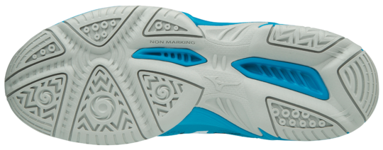 Mizuno LIGHTNING STAR JNR Scarpe da Pallavolo – Blue Jevel – Junior