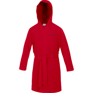 BATHROBE MICROFIBER JUNIOR RED SPEEDO