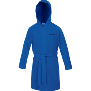 BATHROBE MICROFIBER JR AZZURRO SPEEDO