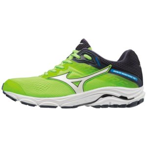 WAVE INSPIRE 15 GREEN GECKO/WHITE/GRAPHITE MIZUNO
