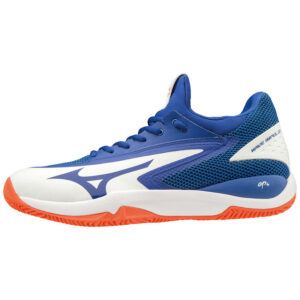 WAVE IMPULSE CC WHITE REFLEX BLUE SCARPE TENNIS MIZUNO