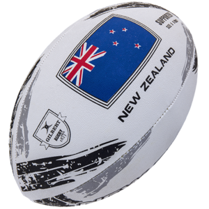 SUPPORTER BALLS NEW ZEALAND SIZE 5 GILBERT