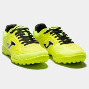 TOP FLEX 811 LEMON FLUOR TURF SCARPA CALCETTO JOMA