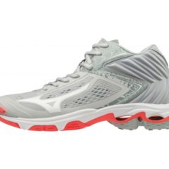 WAVE LIGHTNING Z5 MID WOS GLACIERGRAY MIZUNO