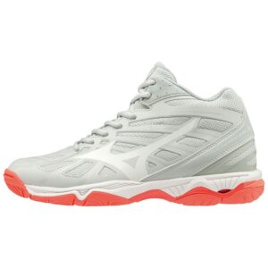 WAVE HURRICANE 3 MID WOS GLACIER GRAY DARK SHADOW MIZUNO