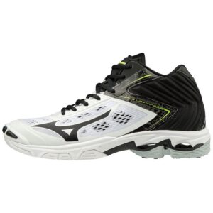 WAVE LIGHTNING Z5 MID  WHITE BLACK MIZUNO