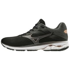 WAVE RIDER 23 WOS BLACK DARK SHADOW CHAMPAGNE MIZUNO