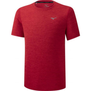 IMPULSE CORE TEE RED MIZUNO