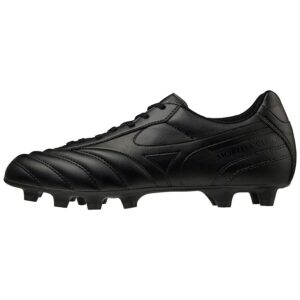 SHOE MORELIA II CLUB MD BLACK/BLACK MIZUNO