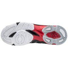SHOE WAVE VOLTAGE MID BLACK/WHITE/199C MIZUNO scarpe da pallavolo