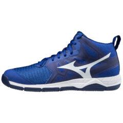 SHOE WAVE SUPERSONIC MID REFLEXBLUEC/WHITE/DIVAPIN MIZUNO scarpa da pallavolo