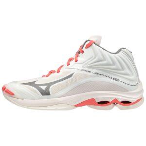 SHOE WAVE LIGHTNING Z6 MID WOS SNOWWHITE/QUIETSHADE MIZUNO scarpe pallavolo