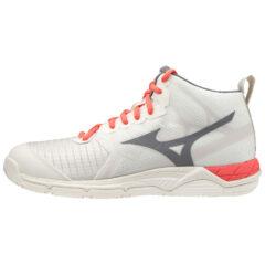 SHOE WAVE SUPERSONIC MID WOS WHITESAND/QUIETSHADE/ MIZUNO scarpe da pallavolo